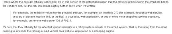 google patent SEO + email